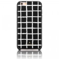 Kate Spade Hardshell Case Black White Paintery Check для iPhone 6 Plus / 6S Plus - Black & White