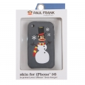Paul Frank Snow Julius Silicone Case for iPhone 3G/3GS Gray
