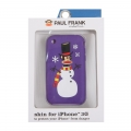 Paul Frank Snow Julius Silicone Case for iPhone 3G/3GS Violet