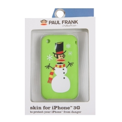 Paul Frank Snow Julius Silicone Case for iPhone 3G/3GS Green