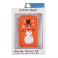 Paul Frank Snow Julius Silicone Case for iPhone 3G/3GS Orange