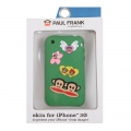 Paul Frank Angel Julius Silicone Case for iPhone 3G/3GS Green