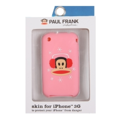 Paul Frank Winter Julius Silicone Case for iPhone 3G/3GS Pink