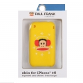 Paul Frank Winter Julius Silicone Case for iPhone 3G/3GS Yellow