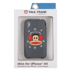 Paul Frank Winter Julius Silicone Case for iPhone 3G/3GS Gray