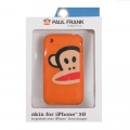Paul Frank Zoom Julius Silicone Case for iPhone 3G/3GS Orange