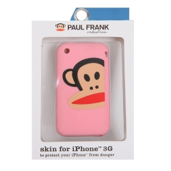 Paul Frank Zoom Julius Silicone Case for iPhone 3G/3GS Pink