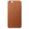Apple iPhone 6s Plus Leather Case - Saddle Brown (MKXC2)