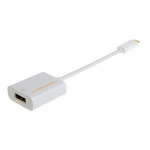 CableCreation USB-C to DisplayPort (support 4K) - White