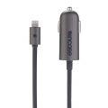 Incase Mini Car Charger with Lightning Cable - Space Gray (EC20145)