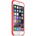 Apple Silicone Case iPhone 6 / iPhone 6S - RED (MGQH2)