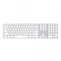 Apple Wired Keyboard, гравировка - US + RU + UA, MB110LL/А (Без упаковки)