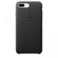 Apple Leather Case iPhone 7 Plus - Black (MMYJ2)