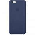 Apple Leather Case  for iPhone 6 / 6S - Midnight Blue (MGR32)