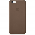 Apple Leather Case for iPhone 6 / 6S - Olive Brown (MGR22)