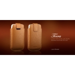 Terra Leather Collection for iPhone 3G/3GS/4 Light Brown