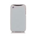 Leather Case Duke Flip Top for iPhone 3G/3GS White