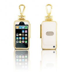 PRIE Ambassador for iPhone 3G/3GS Gold/White (IP3G-PRIE-AMB-03)