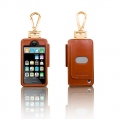 PRIE Ambassador for iPhone 3G/3GS Caramel Brown with Yellow stitch (IP3G-PRIE-AMB-07)