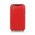 Leather Case Duke Flip Top for iPhone 3G/3GS Red