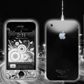 Skin MacLove High Black for iPhone 3G/3GS