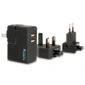 GoPro - Supercharger, International Dual-Port Charger (AWALC-001)
