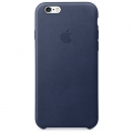Apple iPhone 6s Leather Case - Midnight Blue (MKXU2)