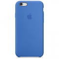 Apple Silicone Case Royal Blue для iPhone 6 / iPhone 6S (MM632)