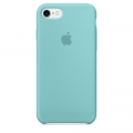 Apple Silicone Case Sea Blue для iPhone 7 (MMX02)