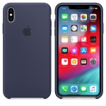Apple iPhone XS Max Silicone Case - Midnight Blue (MRWG2)