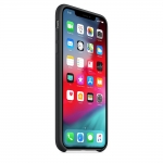 Apple iPhone XS Max Silicone Case - Black (MRWE2)