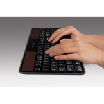 Logitech Wireless Solar Keyboard K750 Windows - Black (920-002912)