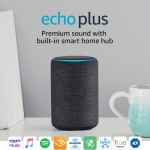 Amazon Echo Plus - Charcoal Fabric