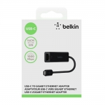 Belkin USB-C to Gigabit Ethernet (F2CU040btBLK)