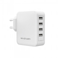 RAVPower USB 40W USB Plug Wall Charger - White (RP-PC026WH)
