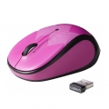 Logitech m317c Wireless Mouse - Purple Zigzag (910-004473)