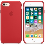 Apple Silicone Case iPhone 7 / iPhone 8 - PRODUCT RED (MQGP2)