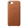 Apple Leather Case iPhone 7 / iPhone 8 - Saddle Brown (MQH72)