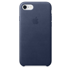 Apple Leather Case iPhone 7 / iPhone 8 - Midnight Blue (MQH82)