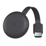 Google Chromecast Video 3Gen - Black (GA00439-US)