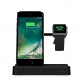 Belkin Charge Dock Apple iPhone and Apple Watch Black (F8J183vfBLK)
