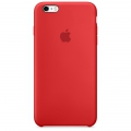 Apple Silicone Case iPhone 6 / iPhone 6S - RED (MKY32)