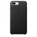 Apple iPhone 8 Plus / 7 Plus Leather Case - Black (MQHM2)