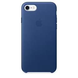 Apple Leather Case iPhone 7 - Sapphire (MPT92)