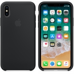 Apple iPhone X Silicone Case - Black (MQT12)