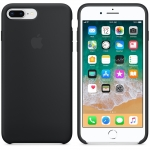 Apple iPhone 8 Plus / 7 Plus Silicone Case - Black (MQGW2)