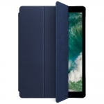 Apple Leather Smart Cover for 12.9 iPad Pro - Midnight Blue (MPV22)