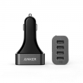 Anker PowerDrive 4 48W 4-Port USB Car Charger  (A2312011)