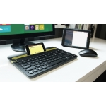 Logitech Bluetooth Multi-Device Keyboard K480 - Black (920-006342)