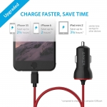 Anker PowerDrive Lightning 12W USB Car Charger - Black (A2307011)